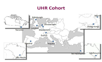 Map UHR Cohort